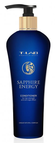 T-LAB Professional Кондиционер энергетический с сапфировым порошком / Sapphire Energy 750 мл
