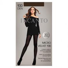 Колготки женские INCANTO MICRO VELVET 100 den тон Moka р-р 3