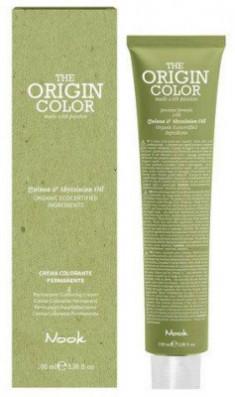 Краска для волос Nook Origin Color Cream 9.11 Интенсивный Пепельный Очень Светлый Блондин 100 мл