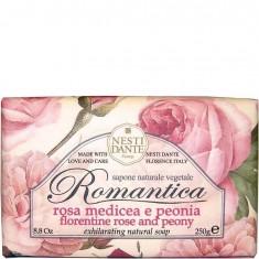 Мыло Романтика Роза и пион NESTI DANTE
