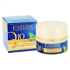 Крем-маска для лица EVELINE Q 10 ночной омолаживающий 50 мл