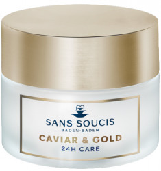 SANS SOUCIS Крем-люкс антивозрастной 24 часа Икра и золото / CAVIAR & GOLD ANTI AGE DELUXE 24H CARE 50 мл