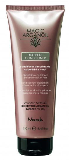 NOOK Кондиционер для ухода за тонкими и непослушными волосами / Disciplining Conditioner hair anti-frizz MAGIC ARGANOIL 250 мл