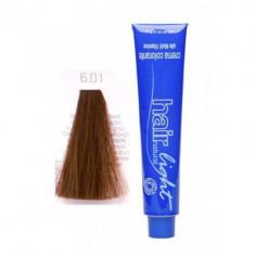 Крем-краска для волос Hair Company HAIR LIGHT CREMA COLORANTE 6.01 тёмно-русый натуральный сандрэ 100мл