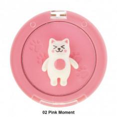 Румяна Tony Moly Bling Cat Powder Cheek 02 Pink Moment 6,5г