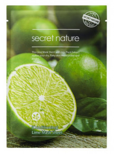 Тканевая маска для лица с лаймом Secret Nature Conditioning Lime Mask Sheet 25 мл