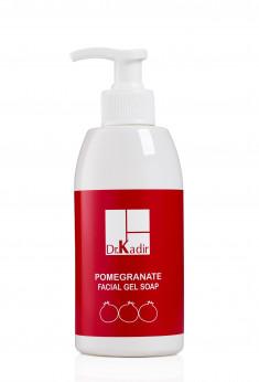 Dr. KADIR Гель-мыло гранатовое для лица / Pomegranate Facial Gel Soap 250 мл