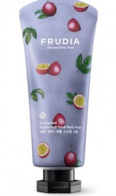 Гель-скраб для душа с маракуйей Frudia My Orchard Passion Fruit Scrub Body Wash 200 мл