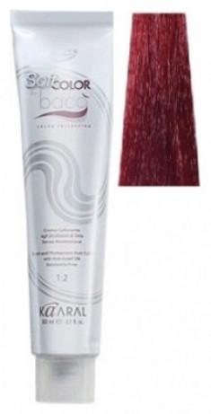 Крем-краситель полуперманентный безаммиачный Kaaral Baco Soft Color 6.44 глубокий медный темный блондин 60 мл