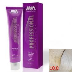 Крем-краска для волос стойкая Kaaral ААА Hair Cream Colorant 10.0 очень-очень светлый блондин 100 мл