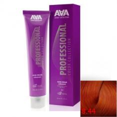 Крем-краска для волос стойкая Kaaral ААА Hair Cream Colorant 8.44 светлый глубокий медный блондин 100 мл