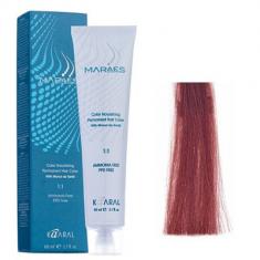 Крем-краситель стойкий без аммиака Kaaral Maraes Nourishing Permanent Hair Color 8.5 светлый блондин красное дерево 60 мл