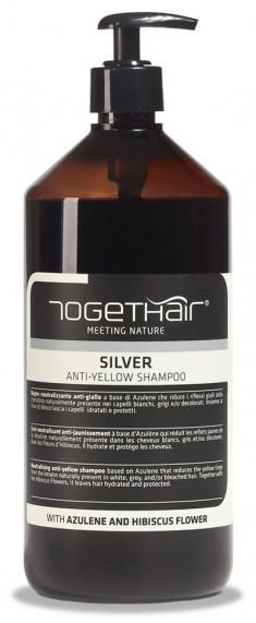 TOGETHAIR Шампунь против желтизны осветленных и седых волос / Silver Shampoo anti-yellow 1000 мл