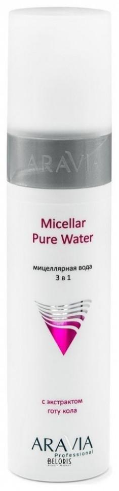 Мицеллярная вода для лица Aravia Professional