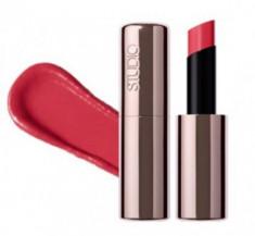 Помада для губ с эффектом влажного блеска THE SAEM Studio Pro Shine Lipstick CR01 Flat Coral