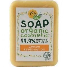 Мыло твердое с эфирным маслом Лимона CIGALE BIO