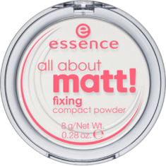 Пудра компактная All about matt! fixing compact powder Essence